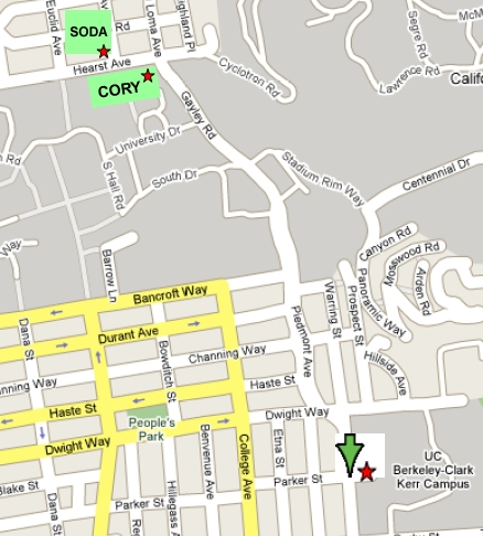 directions to clark kerr campus